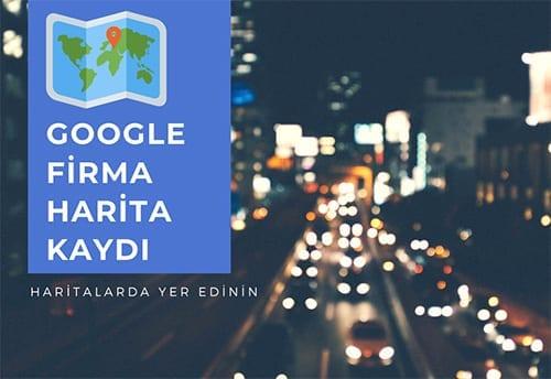 Google harita kaydı